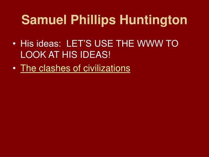 Samuel Phillips Huntington
