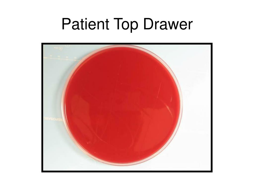 Patient Top Drawer