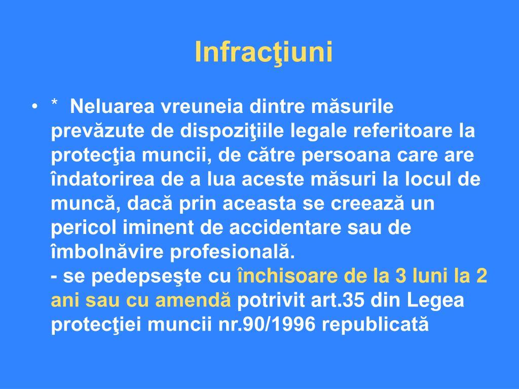 Infracţiuni