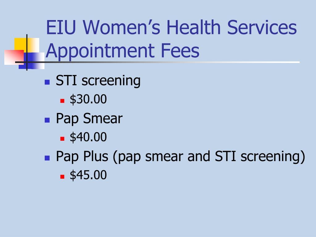 EIU Women's Health Services