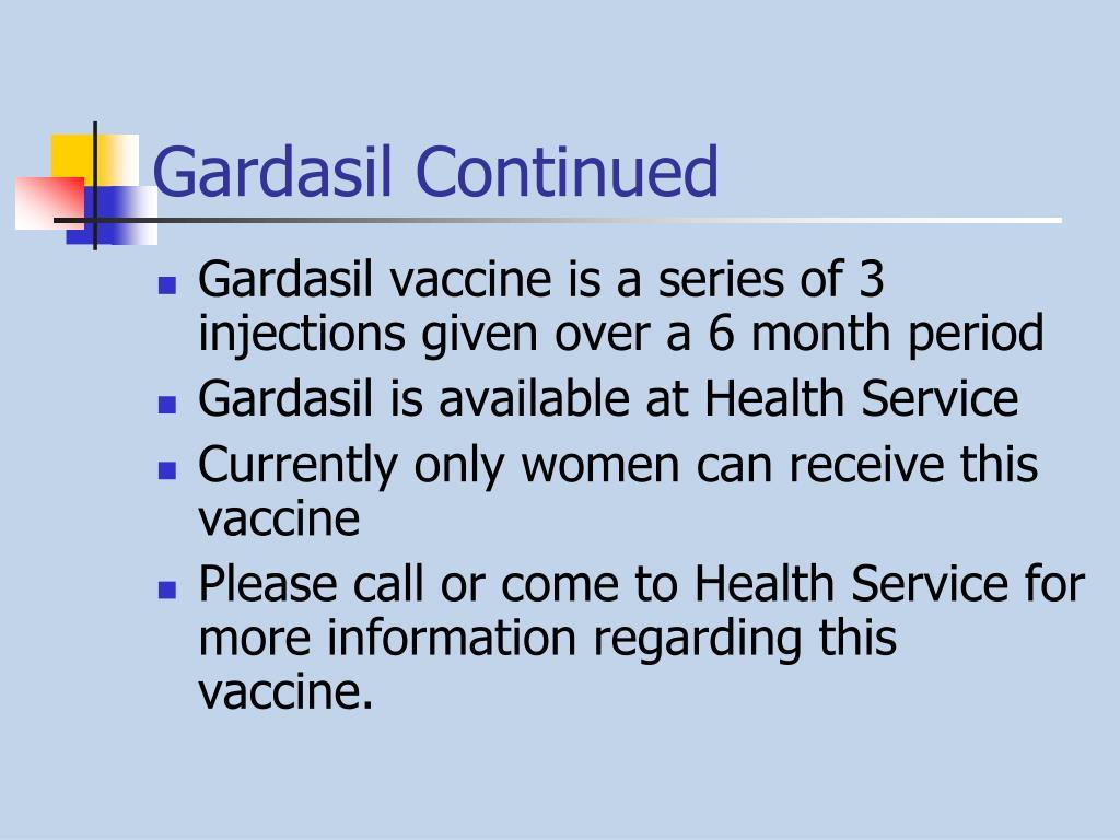 Gardasil Continued