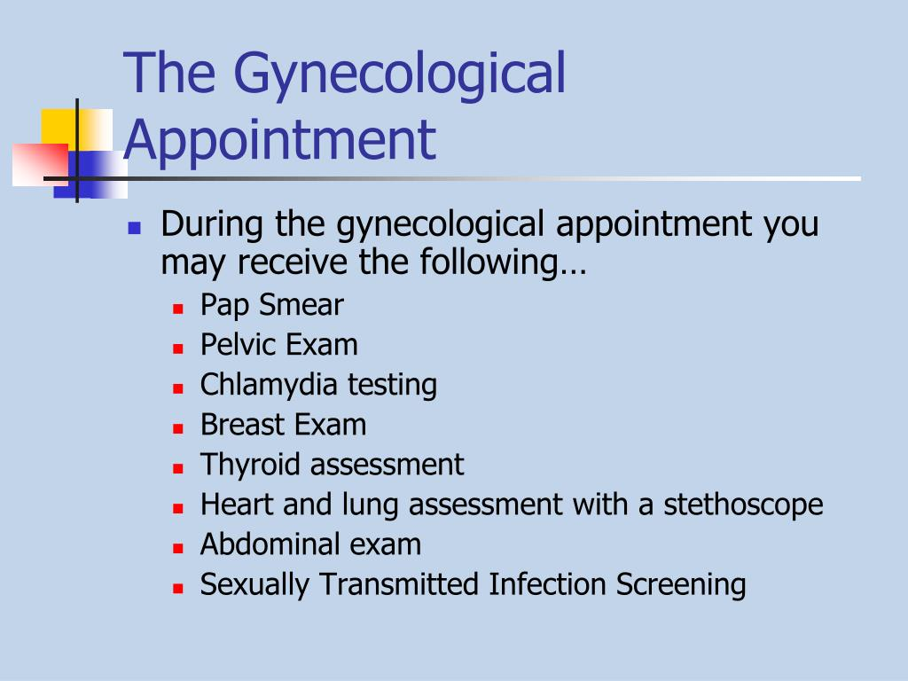 The Gynecological Appointment