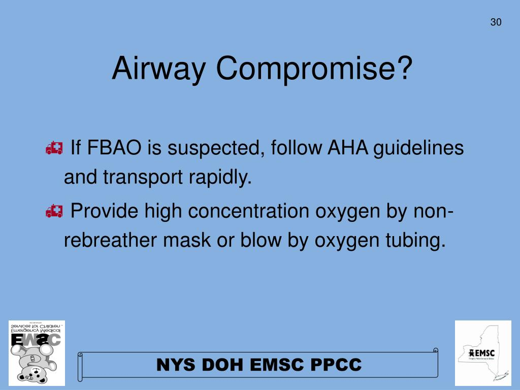 Airway Compromise?