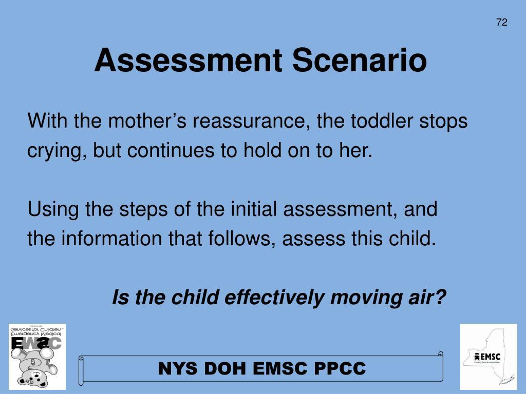 Assessment Scenario