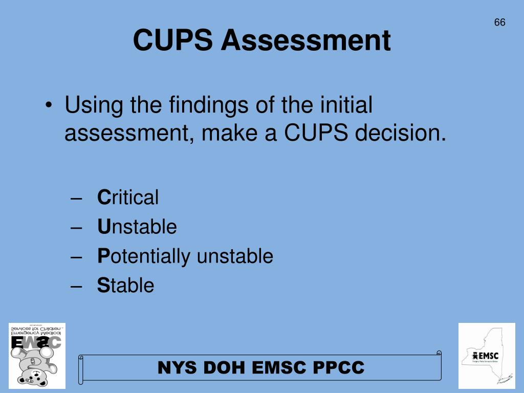 CUPS Assessment