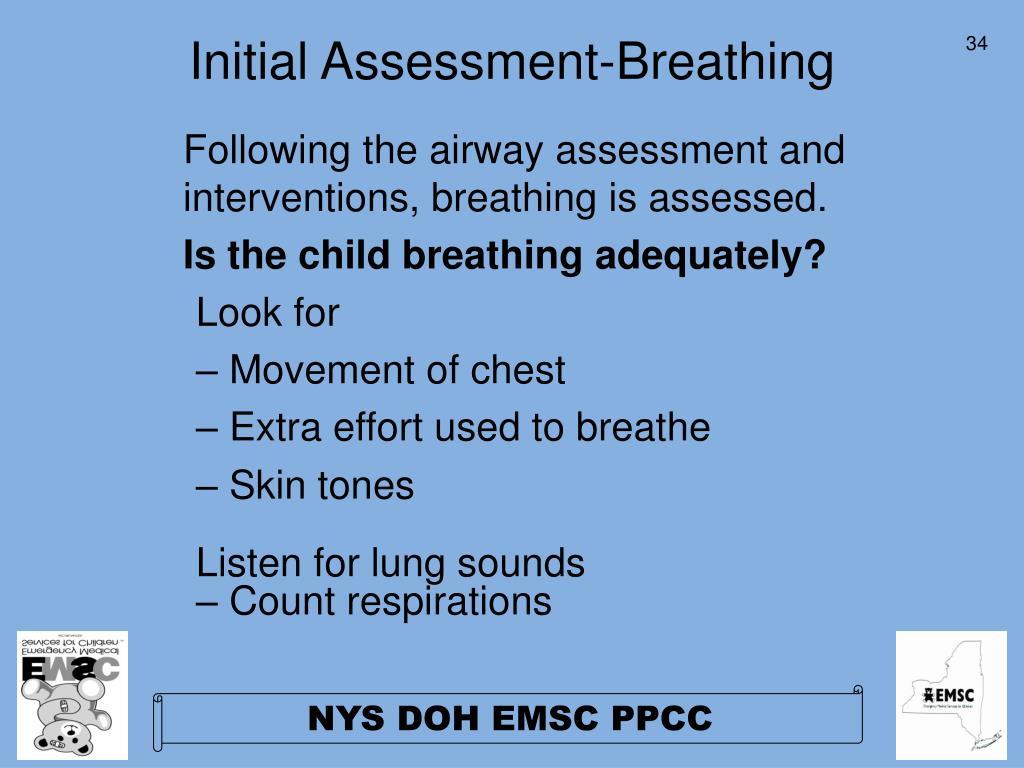 Initial Assessment-Breathing