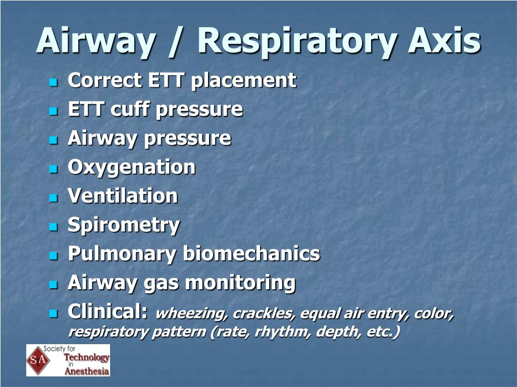 Airway / Respiratory Axis