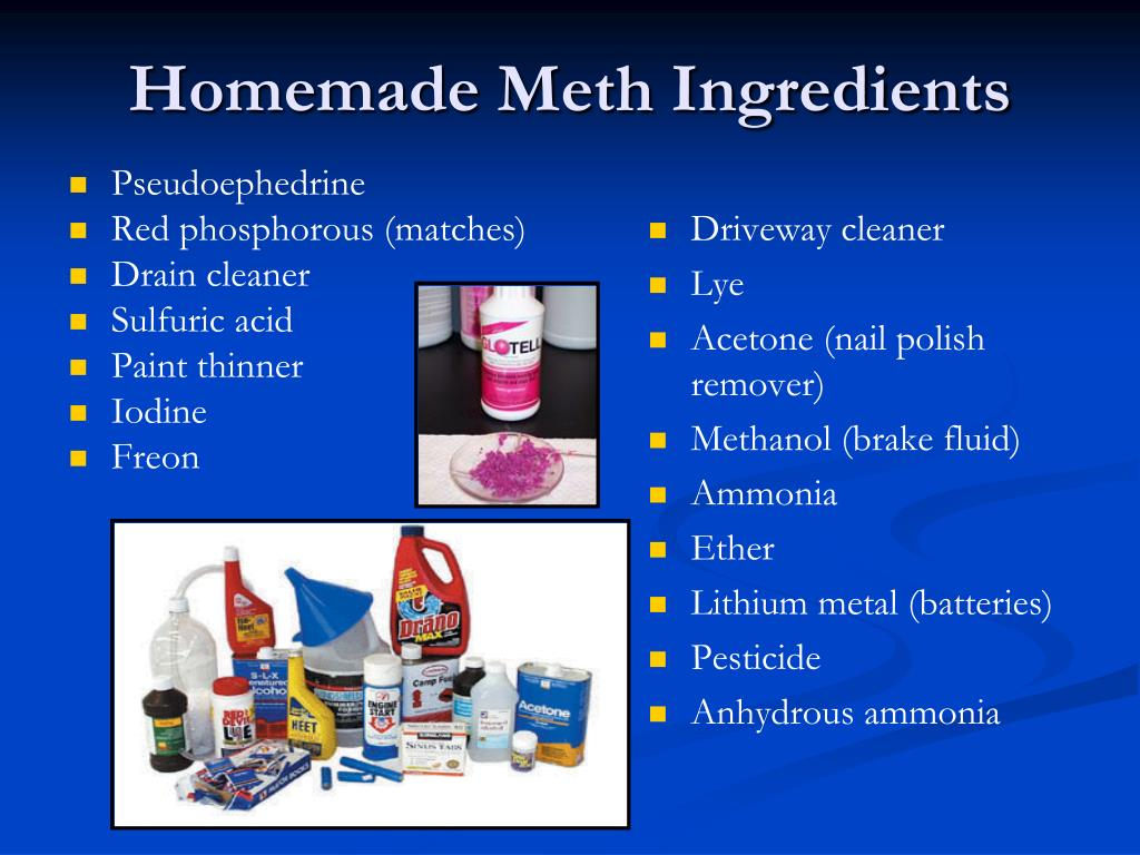 PPT - Methamphetamine: What Professionals Need to Know ...