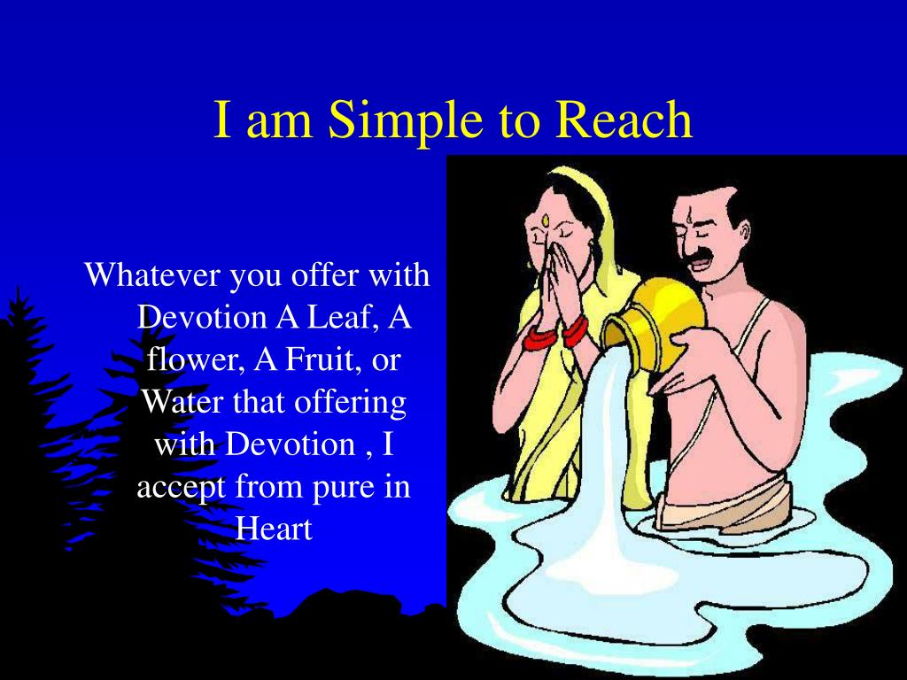 I am Simple to Reach