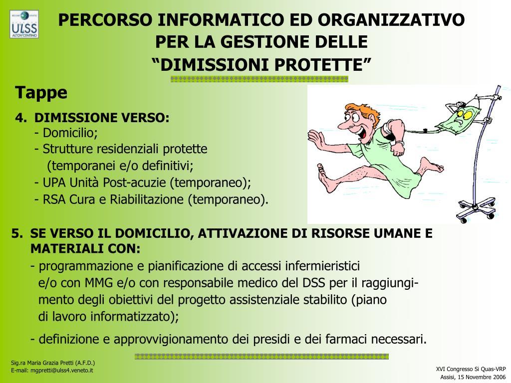 PERCORSO INFORMATICO ED ORGANIZZATIVO
