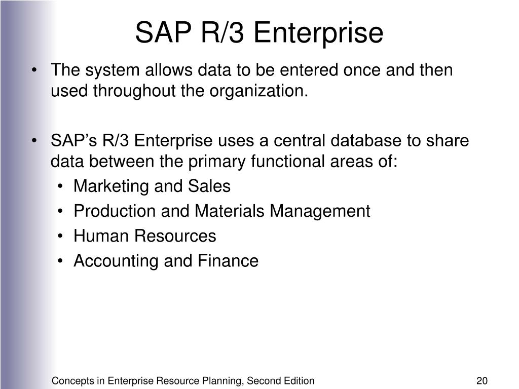 SAP R/3 Enterprise