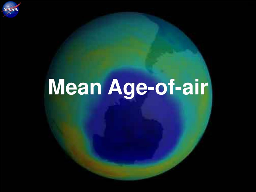 Mean Age-of-air