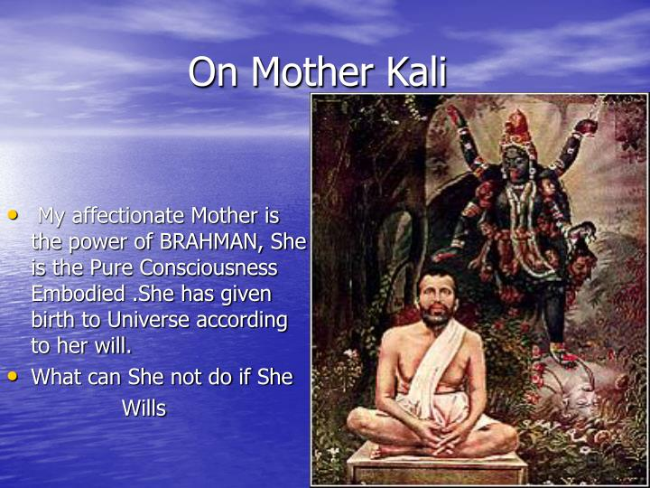 On Mother Kali