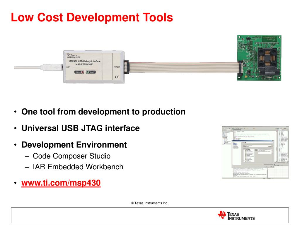 Low Cost Development Tools