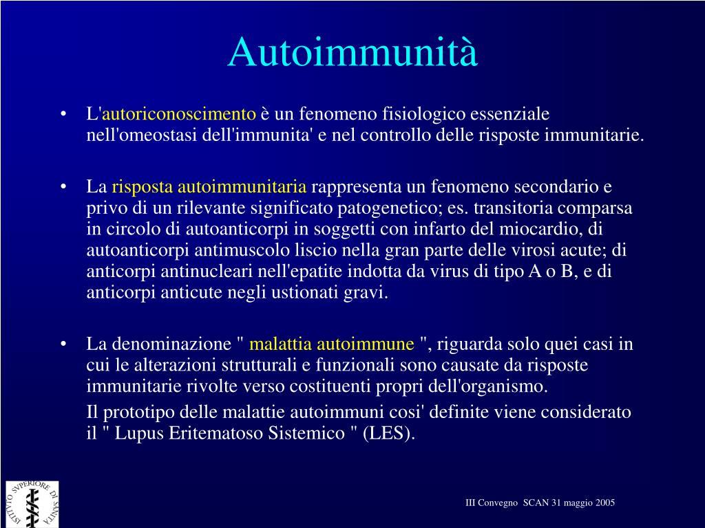 Autoimmunità