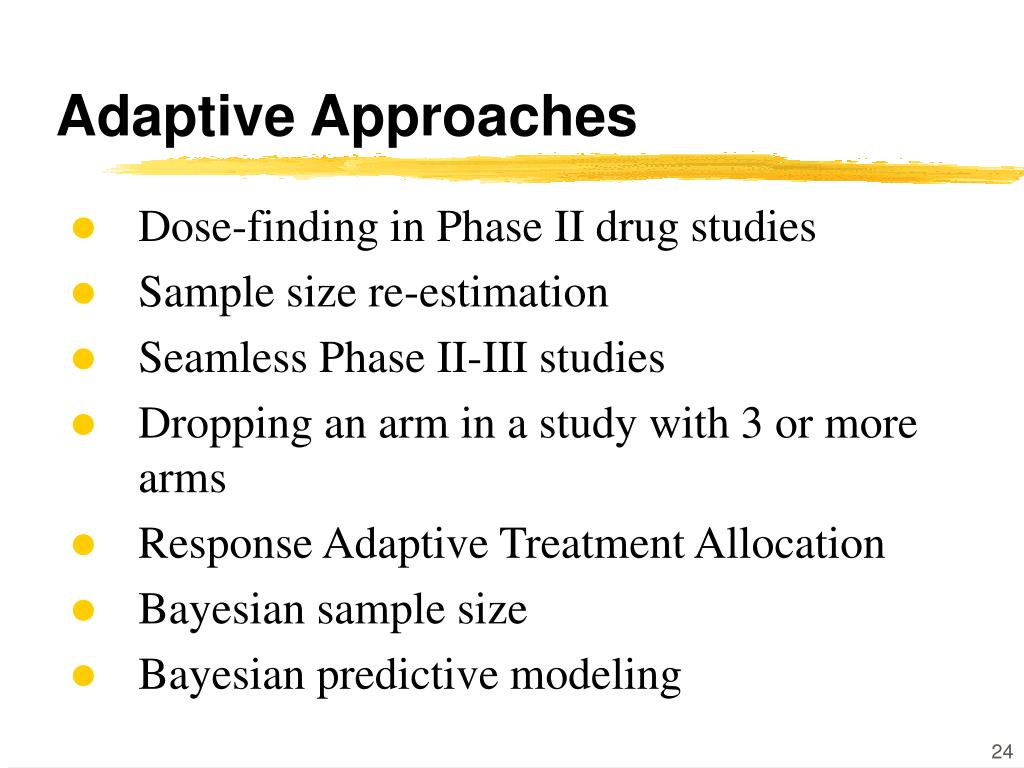 Adaptive Approaches