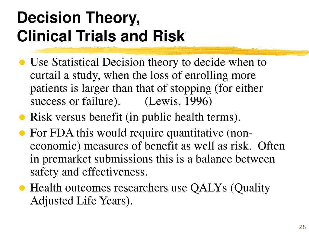 Decision Theory,