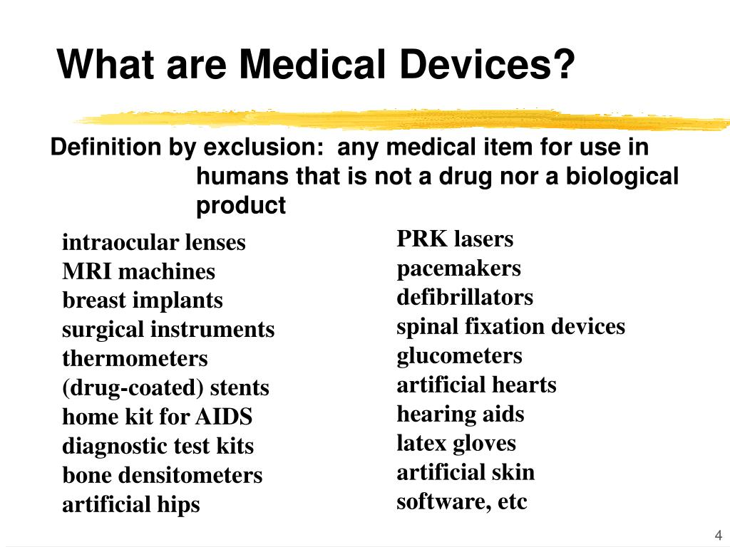 What are Medical Devices?