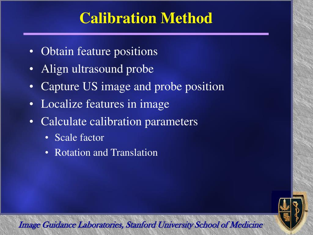 Calibration Method