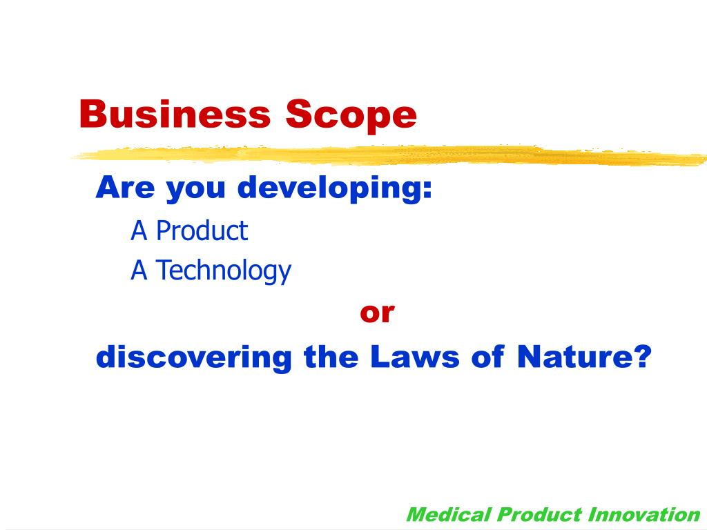 Business Scope