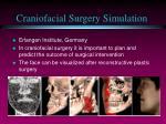 craniofacial surgery simulation