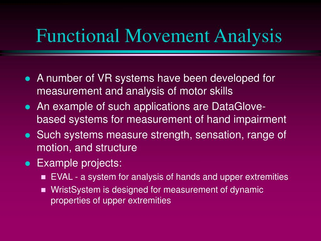 Functional Movement Analysis