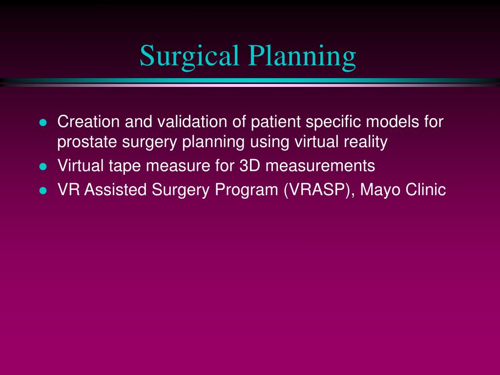 Surgical Planning