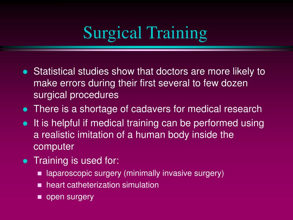 Surgical Training