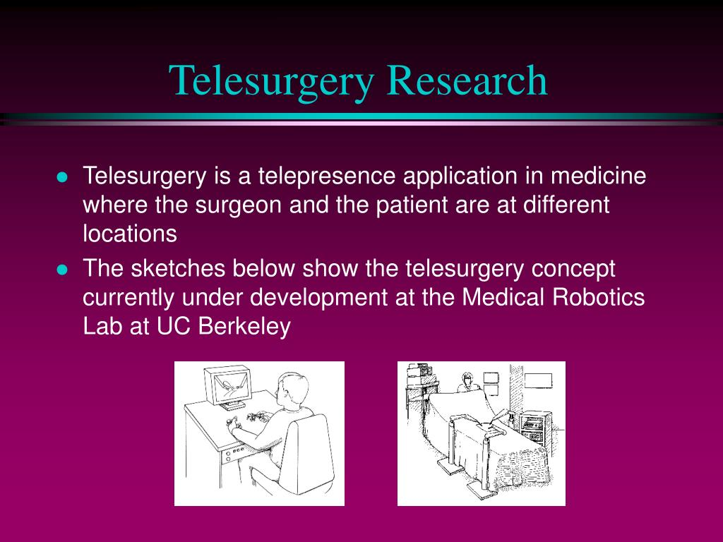 Telesurgery Research