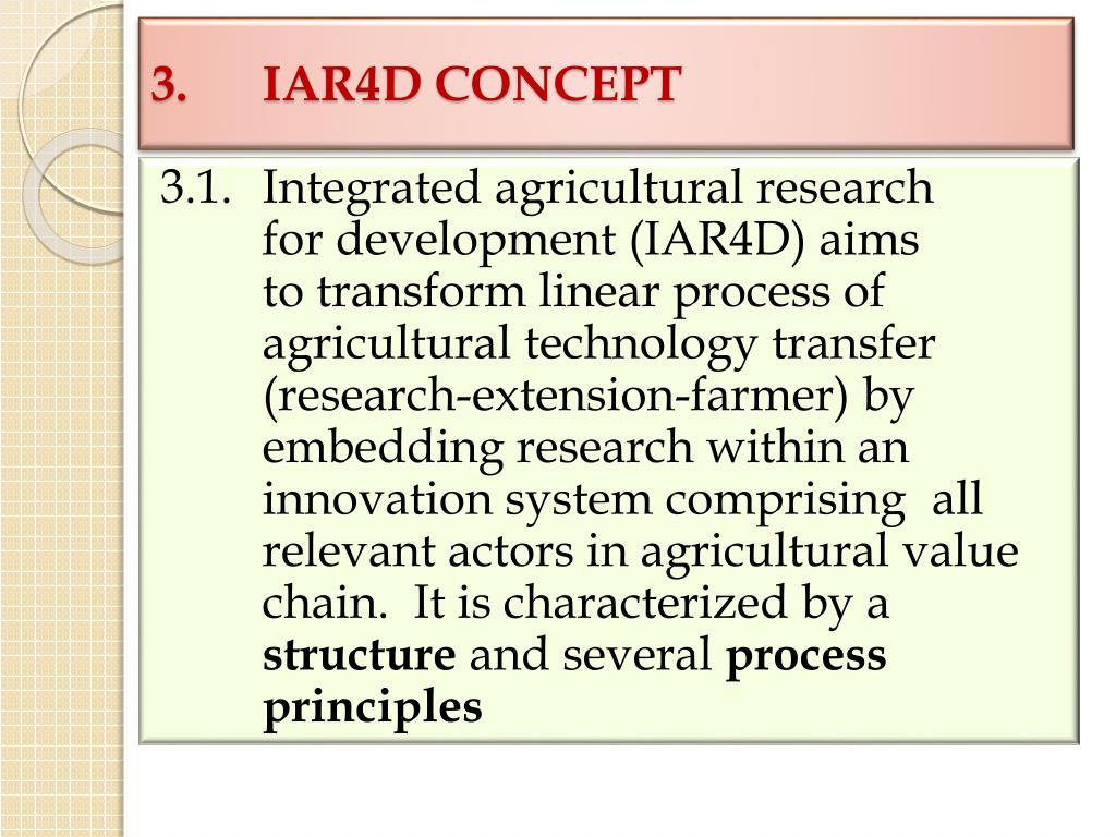 3.IAR4D CONCEPT