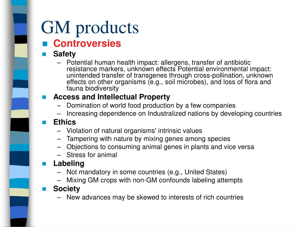 GM products