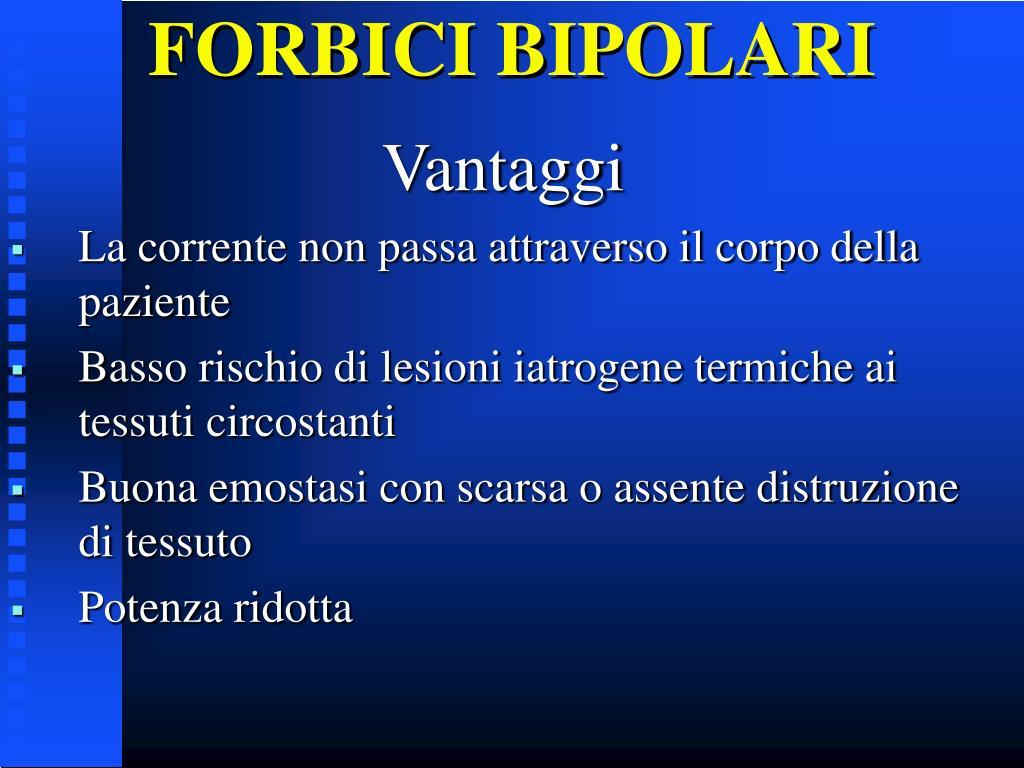 FORBICI BIPOLARI