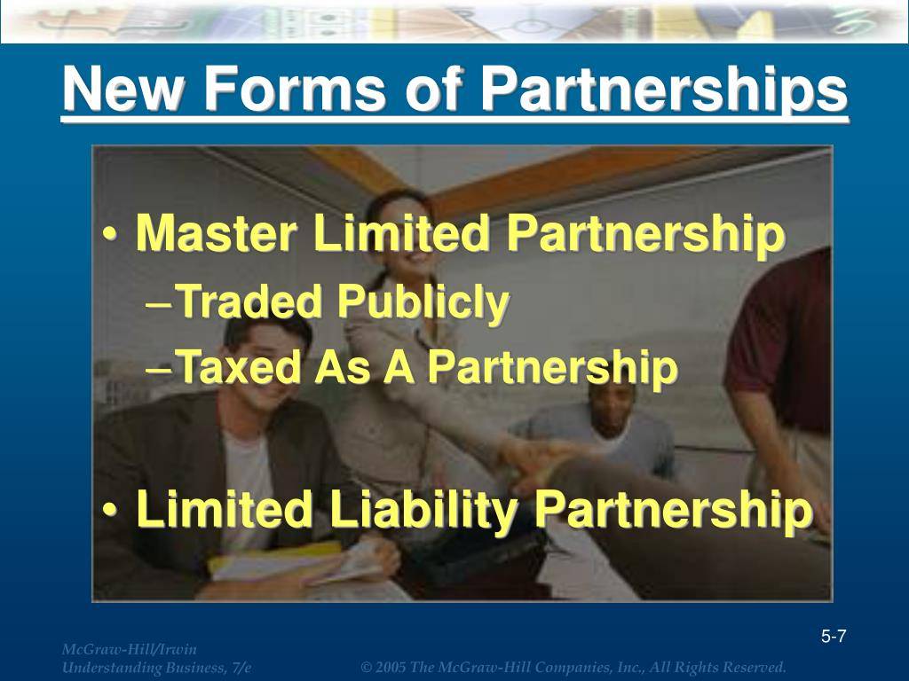 New Forms of Partnerships