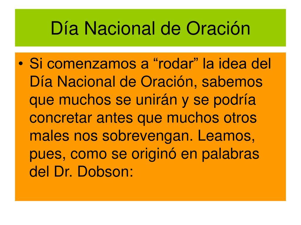 Da Nacional de Oracin
