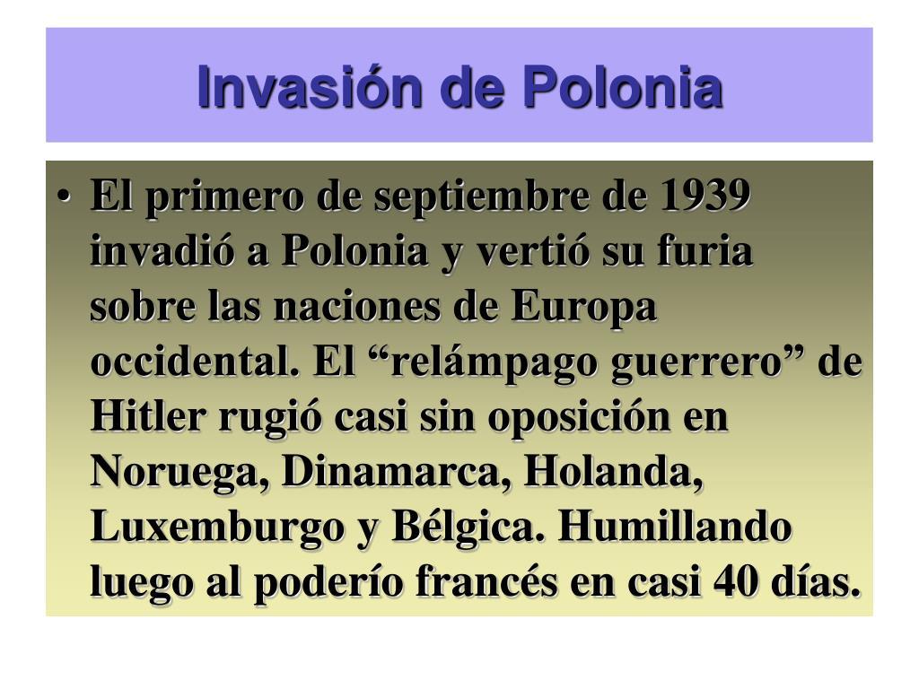 Invasin de Polonia