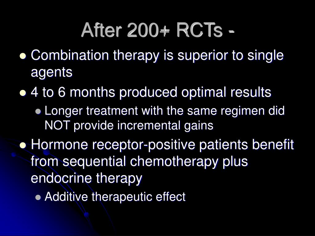 After 200+ RCTs -