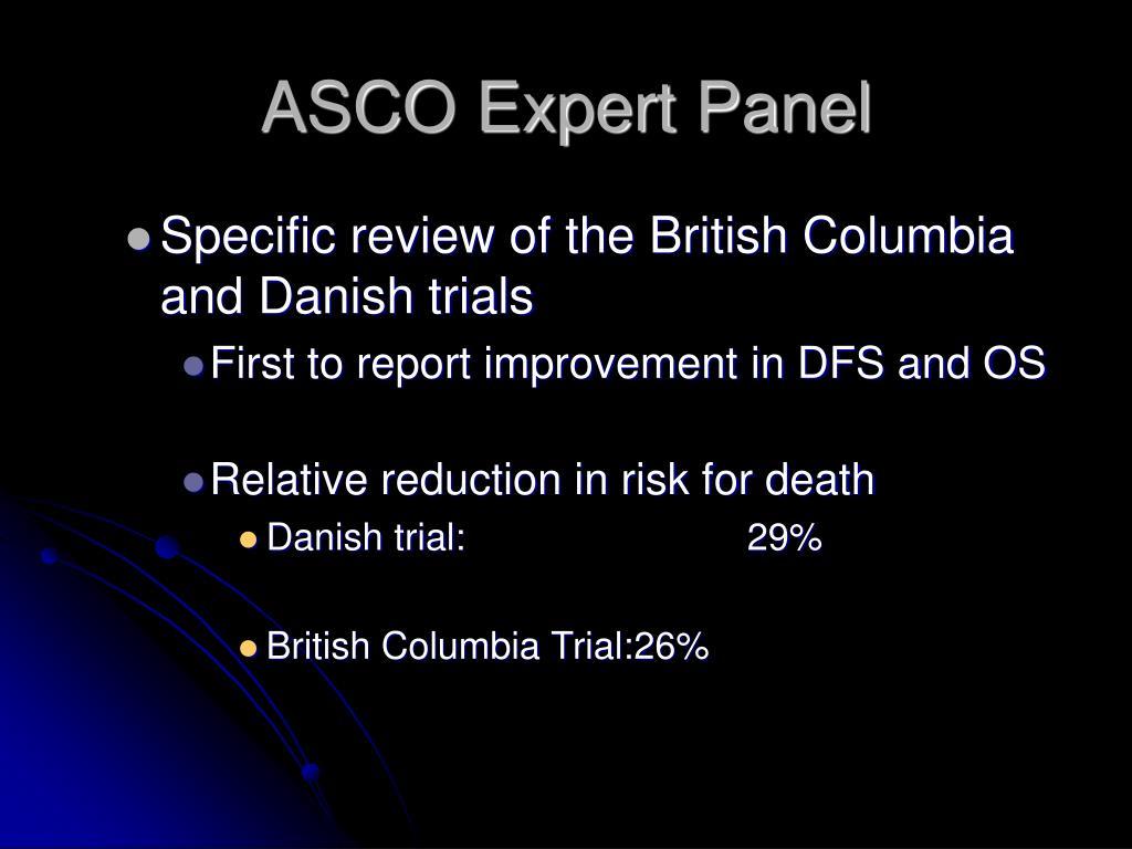 ASCO Expert Panel