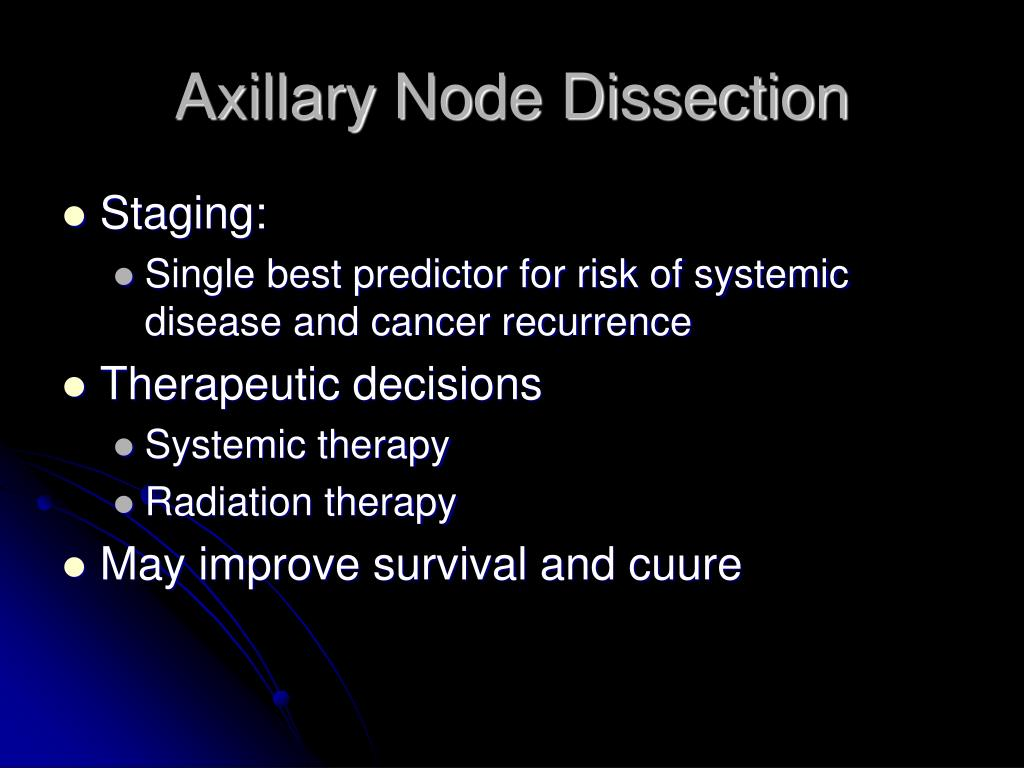 Axillary Node Dissection