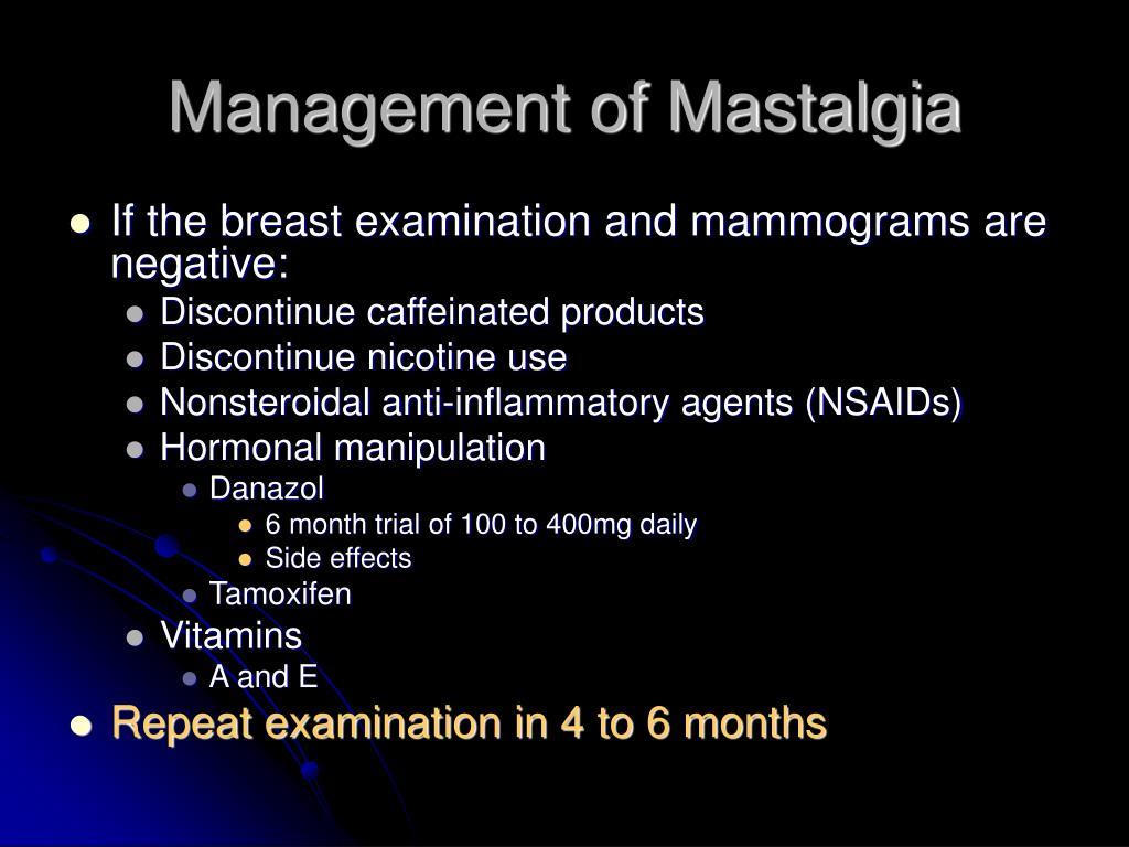 Management of Mastalgia