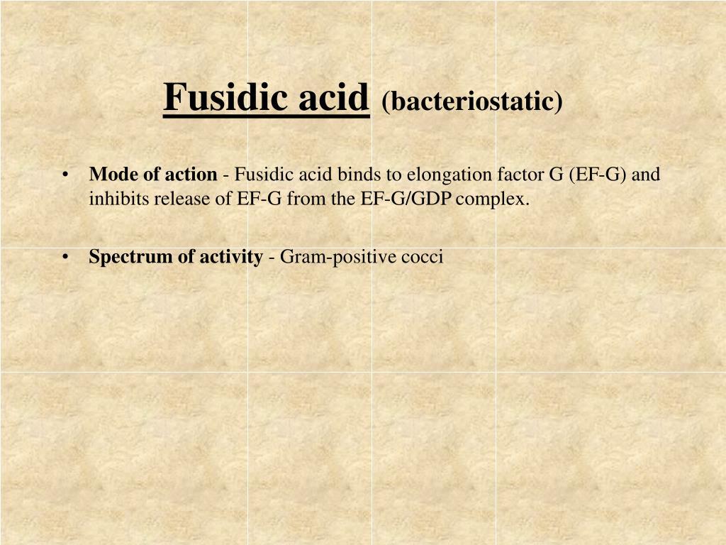 Fusidic acid