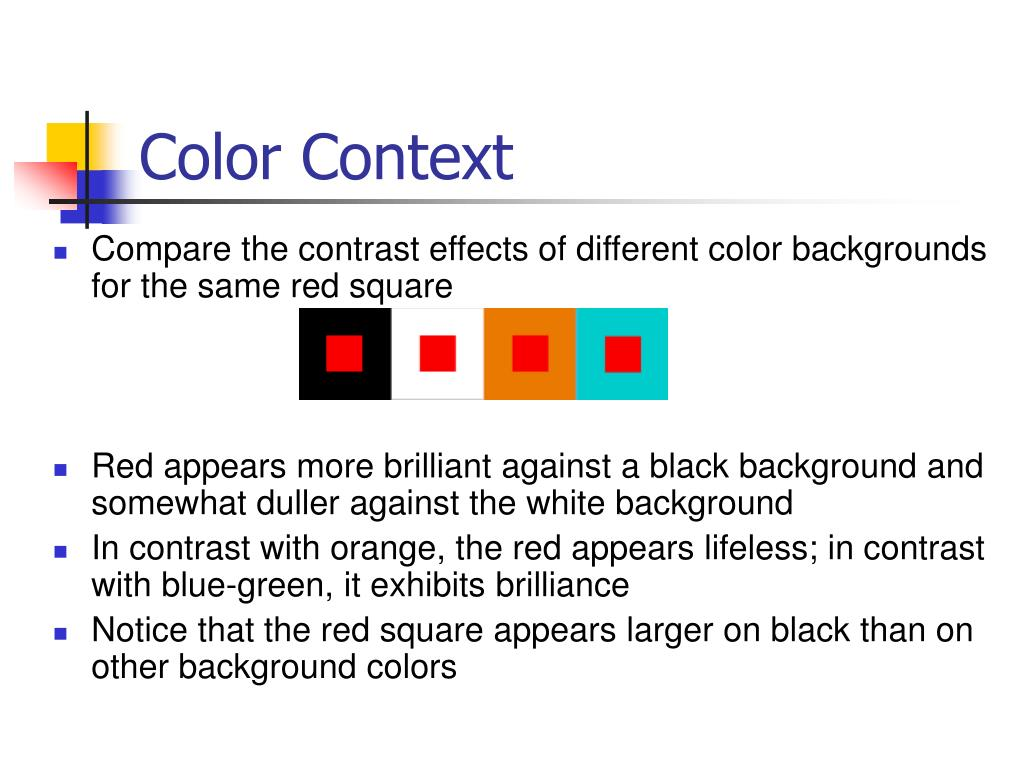 Color Context