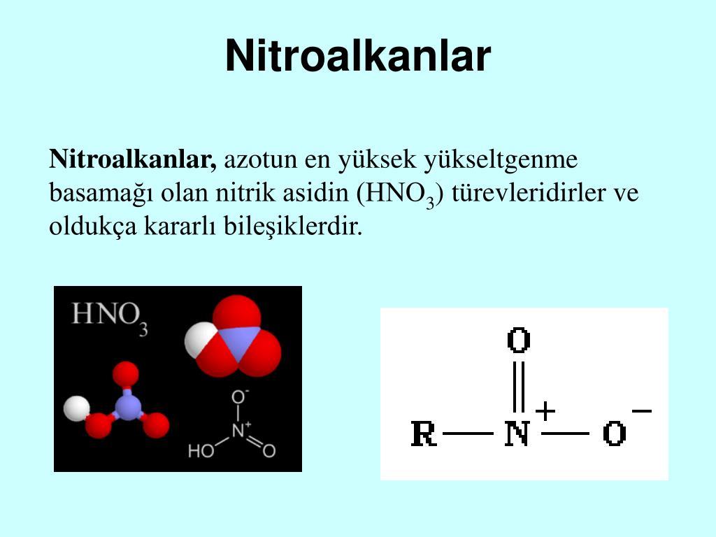 Nitroalkanlar