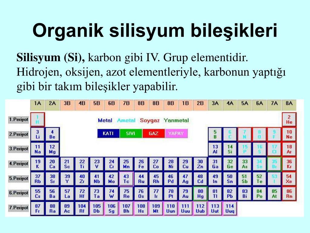 Organik silisyum bileşikleri