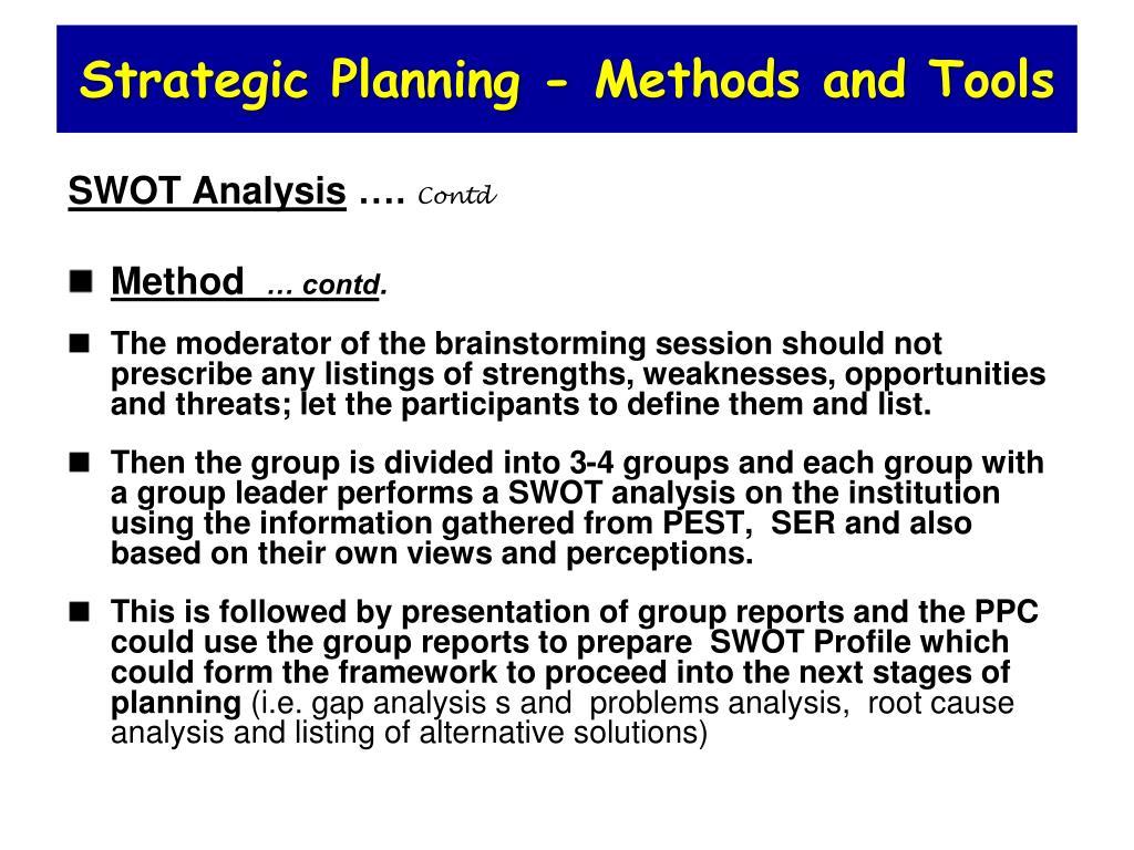 analysis mwthodology