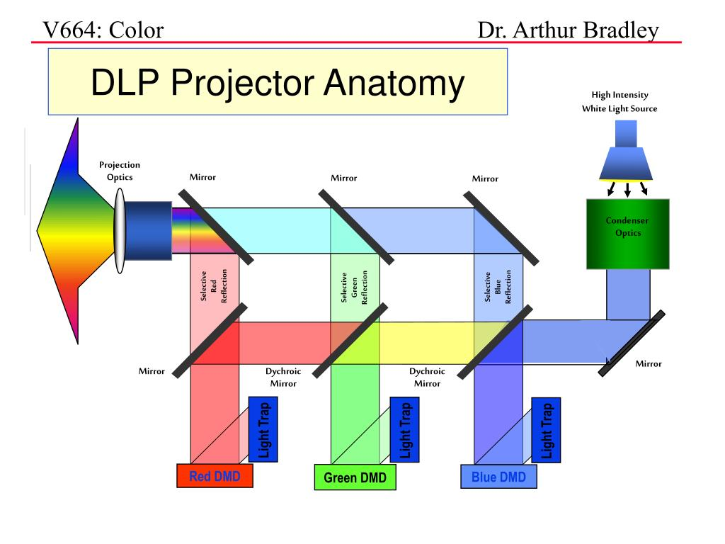 DLP Projector Anatomy