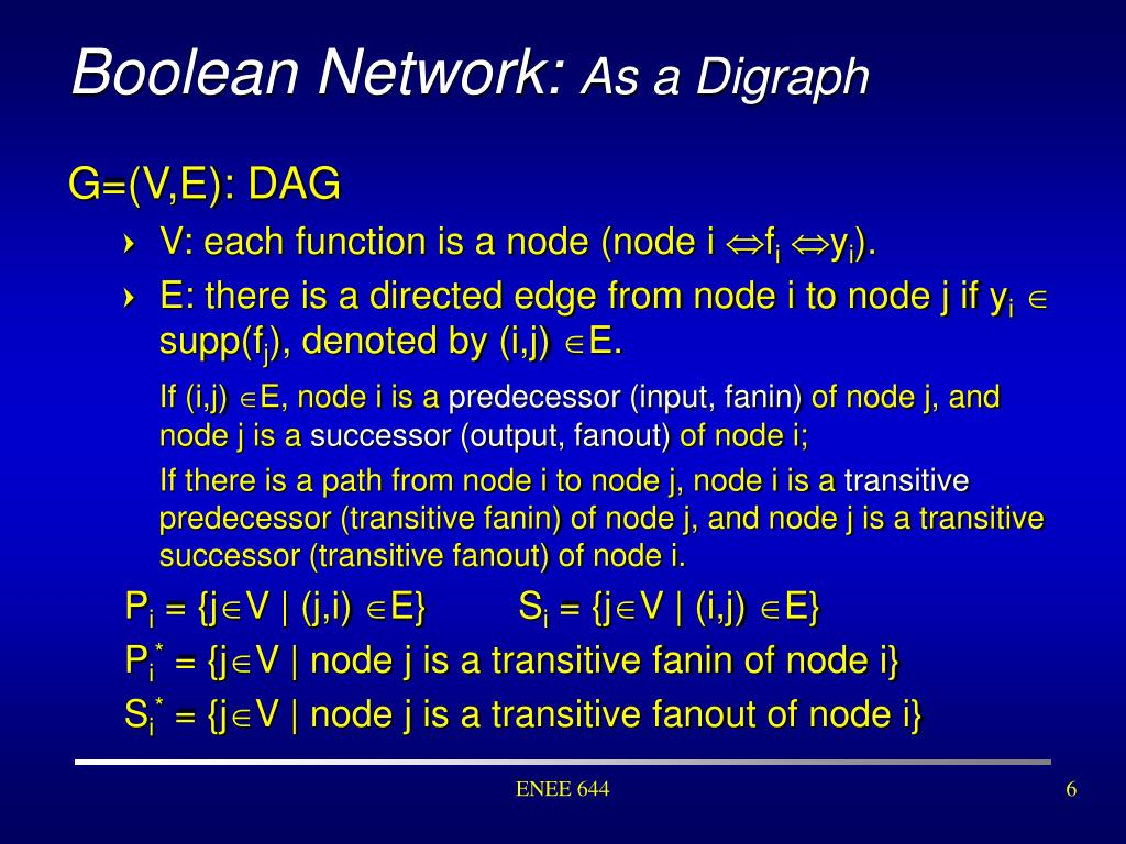 Boolean Network: