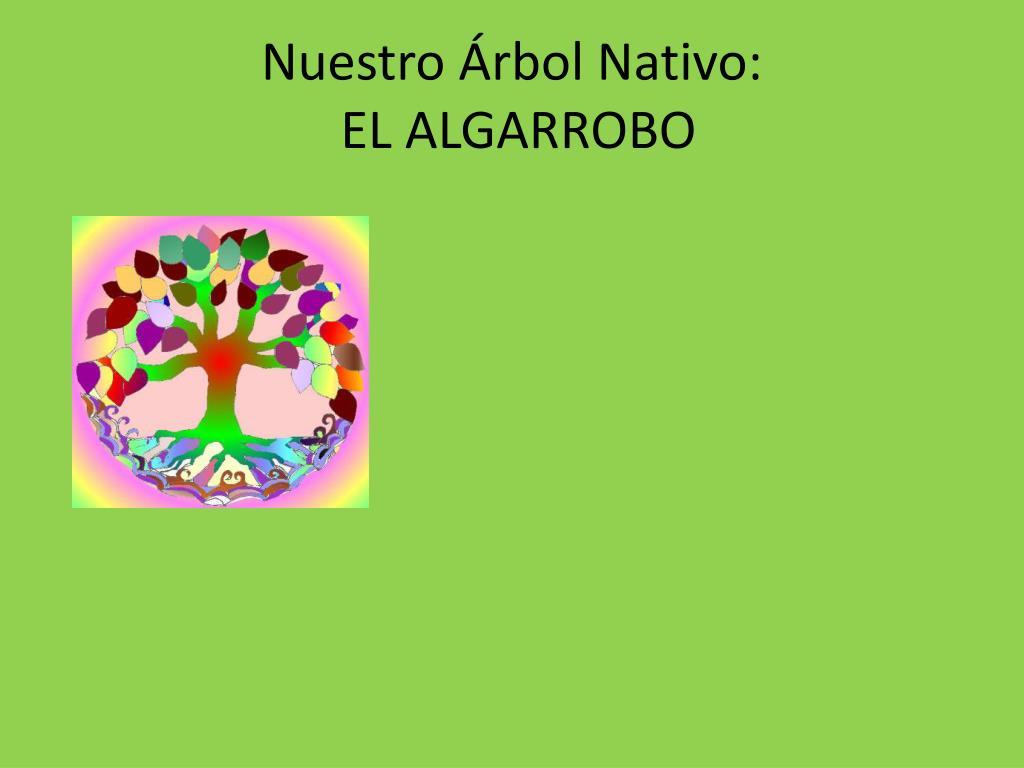 Nuestro Árbol Nativo: