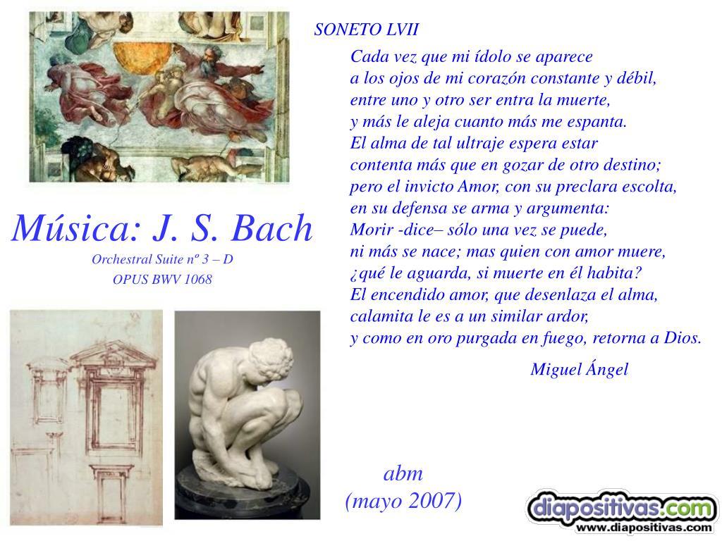 Música: J. S. Bach