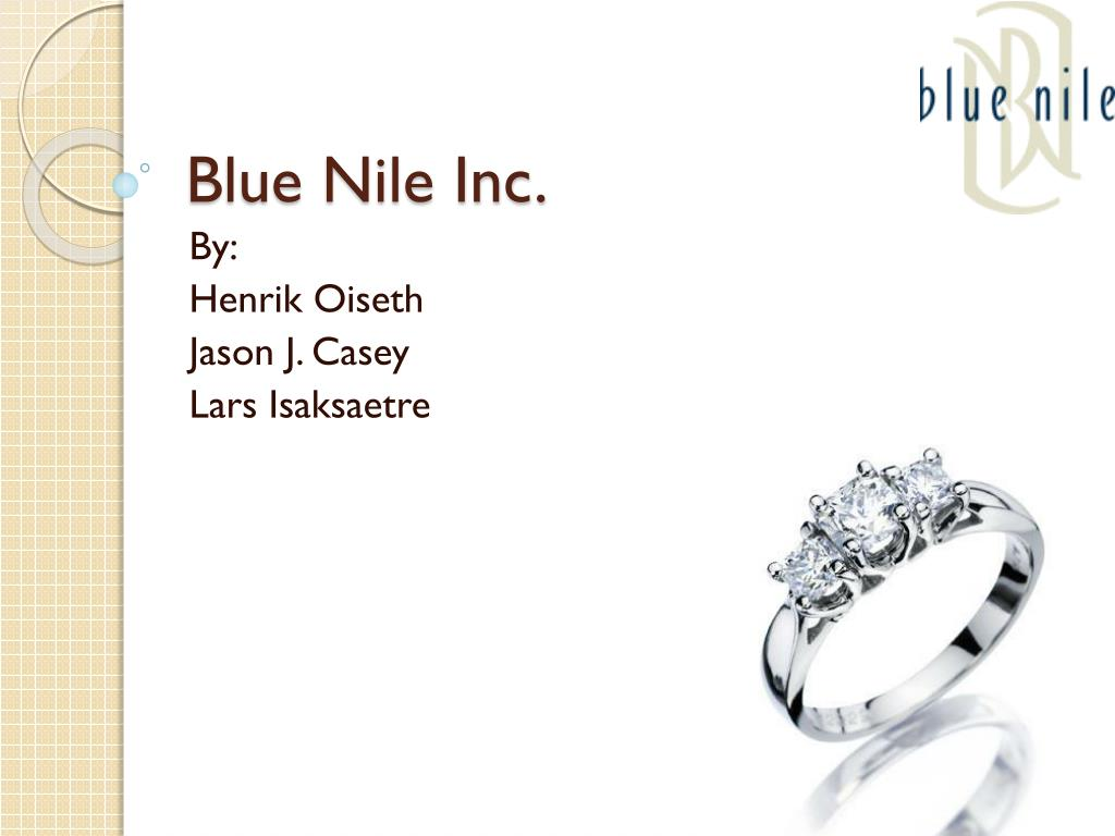 blue nile inc swot Blue nile, inc essay  swot analysis blue nile has a strong position in the market because they have continued to gain confidence with their consumer.