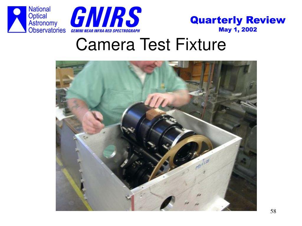 Camera Test Fixture